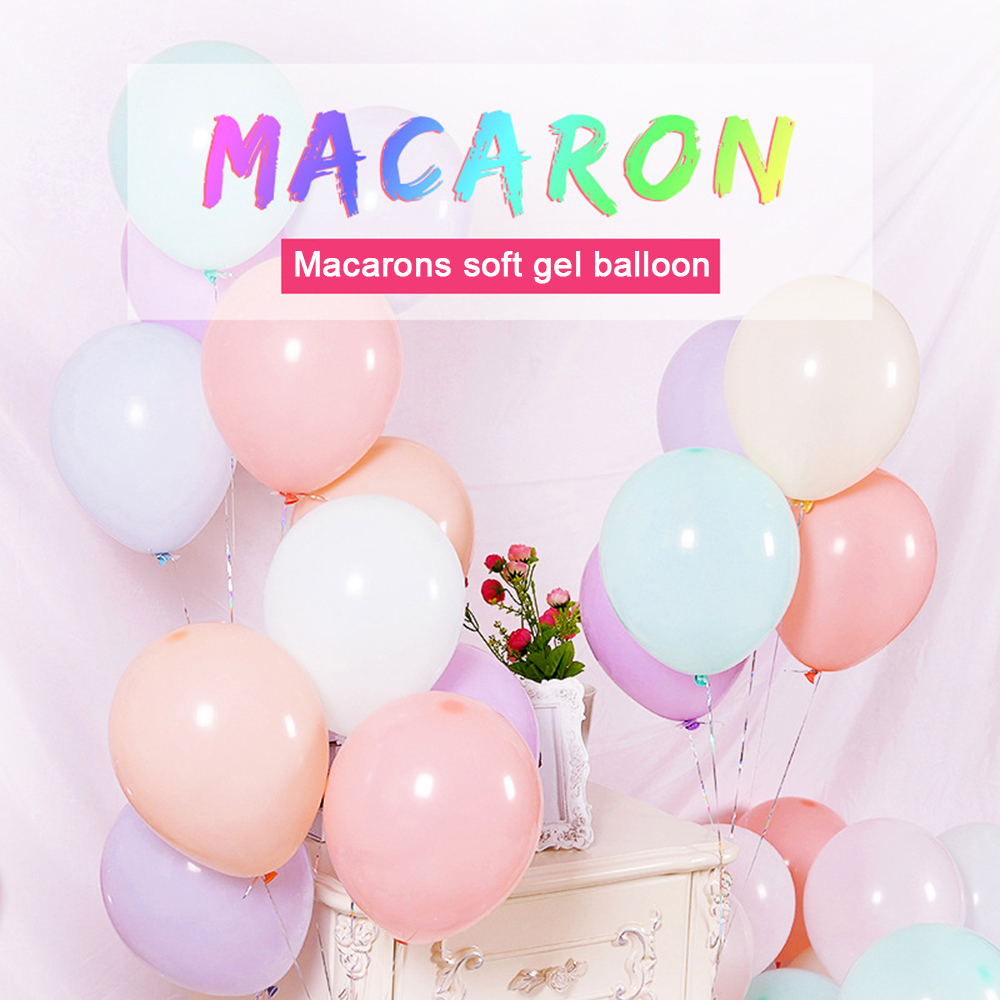 High Quality Hot Sale Assorted Party Favors Decor 50Pcs Latex Long Balloons