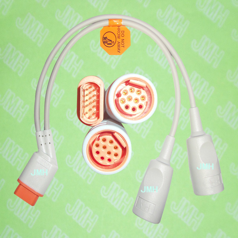 Compatible with Drager/Siemens, IBP Adapter cable. drager наркотестер drugtest 5000