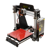 Clear Stock only Russia Geeetech I3 Pro W Open Source DIY 3D Printer Wood Stand alone Printing for Auto Leveling Sensor