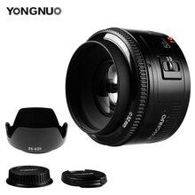 YONGNUO YN 50 mét F1.8 Ống Kính Khẩu Độ Lớn Tự Động Lấy Nét Lens 50 mét/f1.8 cho Canon EOS Máy Ảnh DSLR