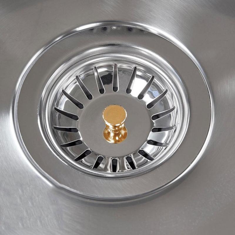 Kitchen Stainless Steel Sewer Filter Mesh Sink