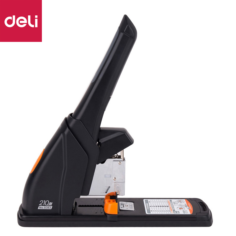 Deli Large Heavy Duty Staplers Thickened Large Size Multi-function Metal Stapler Labor-saving Binding Device Stationery Supplies deli plier staplers labor saving stapler multi function thickening binding machine student standard stapler office stationery