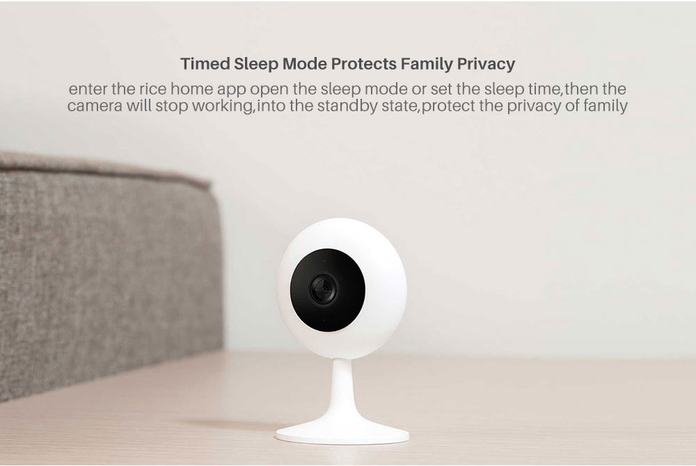 Xiaomi Mijia Smart IP Cameras 720P HD 100.4 Degree Wireless Wifi Webcam Infrared Night Vision Camera (10)