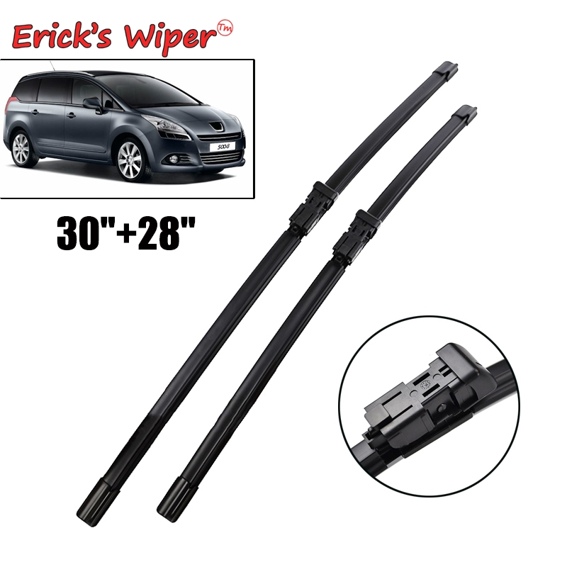 Erick's Wiper Front Wiper Blades For Peugeot 5008  (from 2009 Onwards) Windshield Windscreen Front Window 2014 2015 2016 30