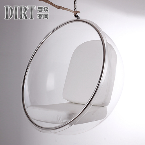 Leisure And Hospitality Transpa Bubble Chair Hanging Minimalist Art Creative Design Fashion Outlet Plastic Chairs In Restaurant From