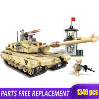 XINGBAO New 06021 Military Arms World War 2 Rocket 99 Tank Building Blocks Bricks Compatible with Logo Blocks WW2 Toys Promotion