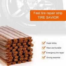 1 juego Reparación de neumáticos de coche cinta de goma bloqueo de aire fugas de goma cemento para coche camión motocicleta neumático sin cámara accesorios de coche