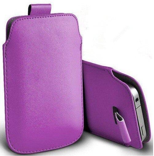 Nueva 13 colores pull up pouch bag case para doogee x5 max cuero pu bolsas móvil