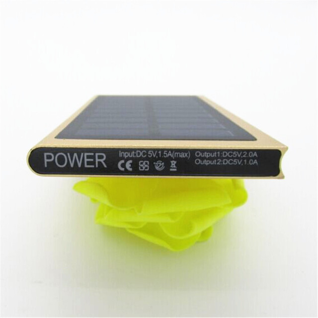 Ultra-thin Solar Power Bank 20000 mAh 5