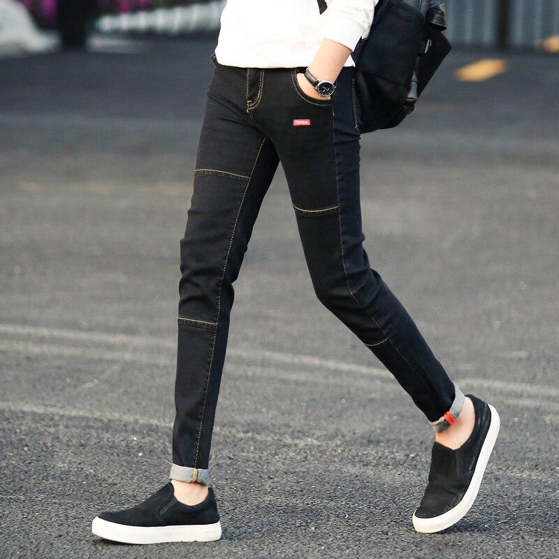 Cheap Wholesale 2019 New Autumn Winter Hot Selling Men's Fashion Casual  Denim Pants MW390