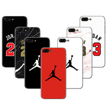 Michael Jordan tpu For iPhone XS Max XR 5 6 6S 7 Plus X 8 for Samsung Galaxy A3 A5 J3 J5 2016 2017 2018 S7 edge S8 S9 Plus Case(China)