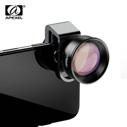 APEXEL HD 2X объектив телескопа 4K телефото зум объектив камеры телефона CPL Звездный фильтр для huawei Samsung все смартфон Прямая поставка