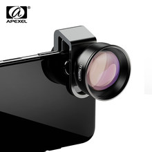 APEXEL HD 2X telescope lens 4K telephoto zoom phone camera lens CPL star filter for huawei Samsung all smartphone drop-shipping(China)