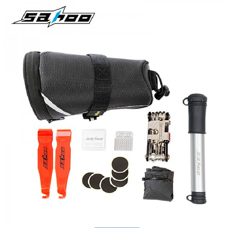 ᗖSAHOO Tire Repair ヾ(^ ^)ノ Kits Kits Inflatable Pump ...