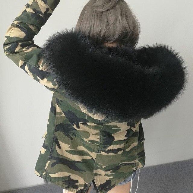 Camouflage jacke damen winter