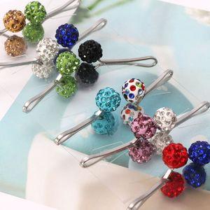 Image 5 - 12Pcs Muslim Hijab Scarf Safety Pin Clips Rhinestone Ball Brooch Fashion Jewelry