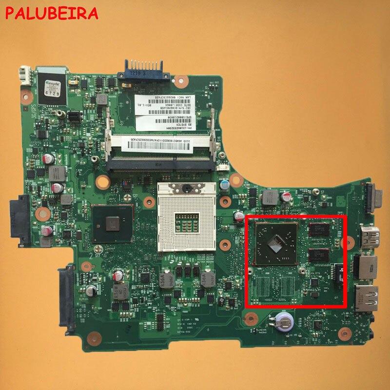 PALUBEIRA V000218030 6050A2332301 материнская плата для ноутбука Toshiba L650 L655 Материнская плата ноутбука s989 HM55 с видеокартой работает