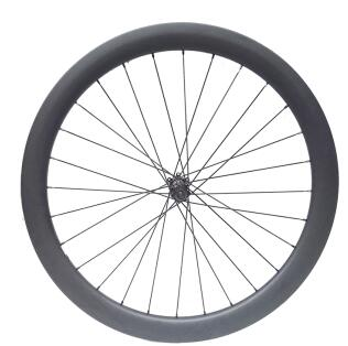 width 25mm carbon bike disc wheel 50mm clicnher tubeless customized decal with DT 350s thru axle