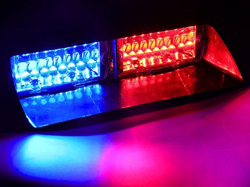 Car Polícia Strobe Traço Flash Aviso de