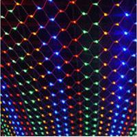 New Year 2x3M Garlands LED Christams Lights Outdoor Decoration LED Net String Lights EU US Plug