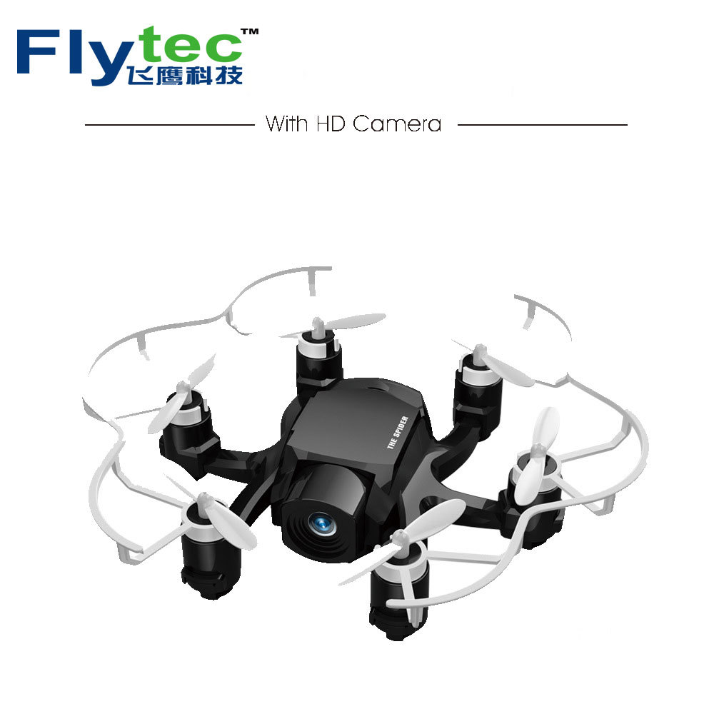 Flytec 126C Spider Drone Dual Mode Mini Drone with HD Camera  RC quadcopter Rc helicopter camera drone quadcopter with camera jjr c jjrc h43wh h43 selfie elfie wifi fpv with hd camera altitude hold headless mode foldable arm rc quadcopter drone h37 mini