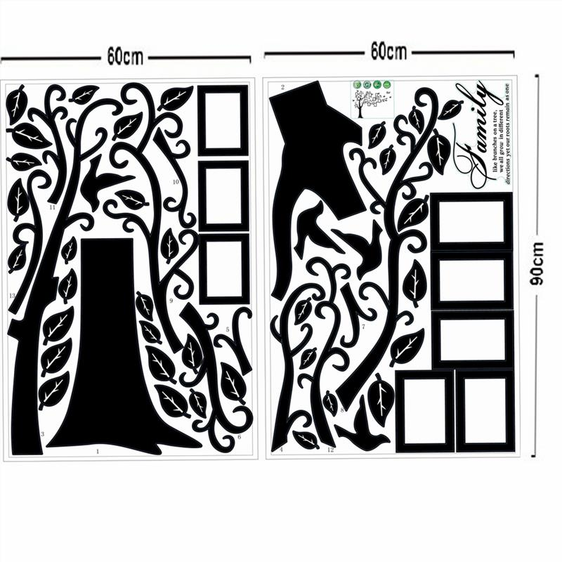 Family Tree Frames For Wall pictures frame large tree wall decals living room decoration