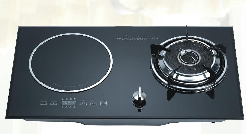Combined Cooker Gas Stove Induction