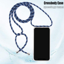 Huawei P20 P30 Lite Pro Mate 20 Crossbody Strap Phone Case With Lanyard Necklace Shoulder
