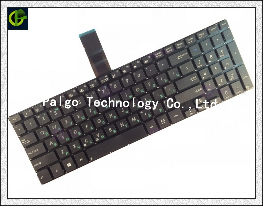 Russian Keyboard for Asus VivoBook RU Black 0KNB0 612DRU00 9Z NANSQ 00R 0KNB0 610BRU00 keyboard