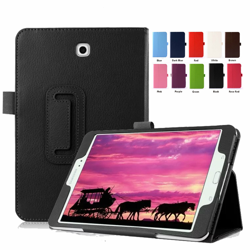 PU Leather Case For Samsung GALAXY Tab S2 9.7 Smart Cover For SM-T810 SM-T813 SM-T815 SM-T819 9.7 Inch Tablet