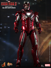1/6 scale figure doll SILVER CENTURION Iron Man Tony  12″ Action figure doll Collectible Figure model toys