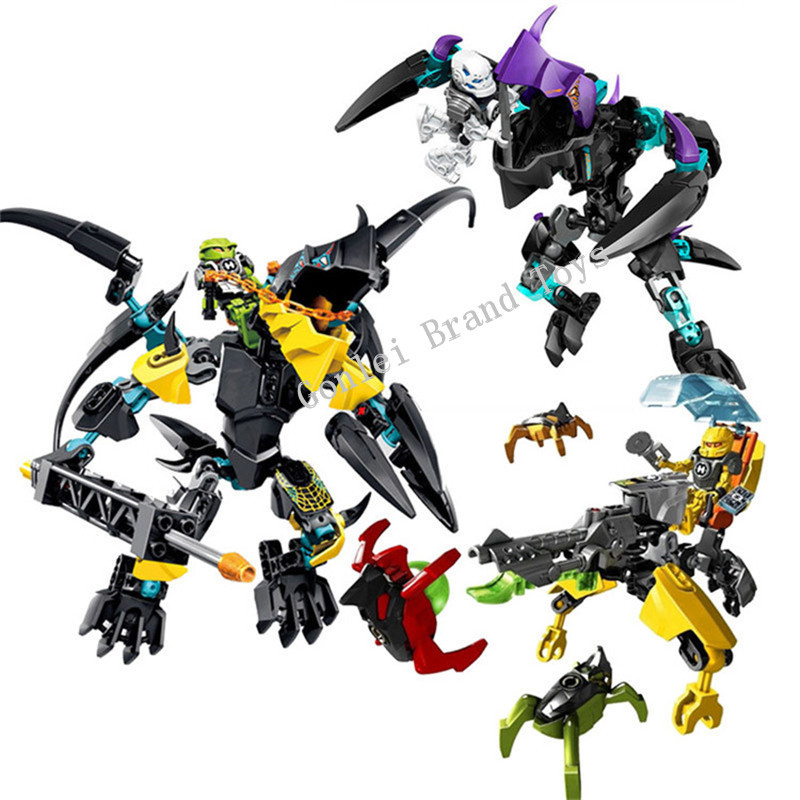 NEW FLYER Beast Vs. BREEZ EVO Blocks Model Compatible LegoINGlys 44020 Hero Factory 6.0 Daniel Rocka Blocks Buildings