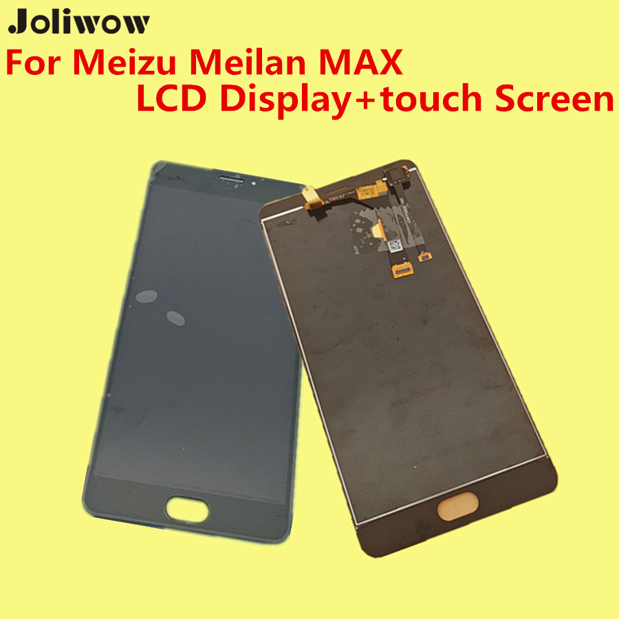For- Meizu Meilan MAX LCD Display+touch Screen Digitizer Assembly Replacement Accessories for Meizu M3 Max phone Give glass film high quality 5 5inch for meizu m5 note 5 lcd display screen touch screen digitizer glass panel meilan note5 replacement assembly
