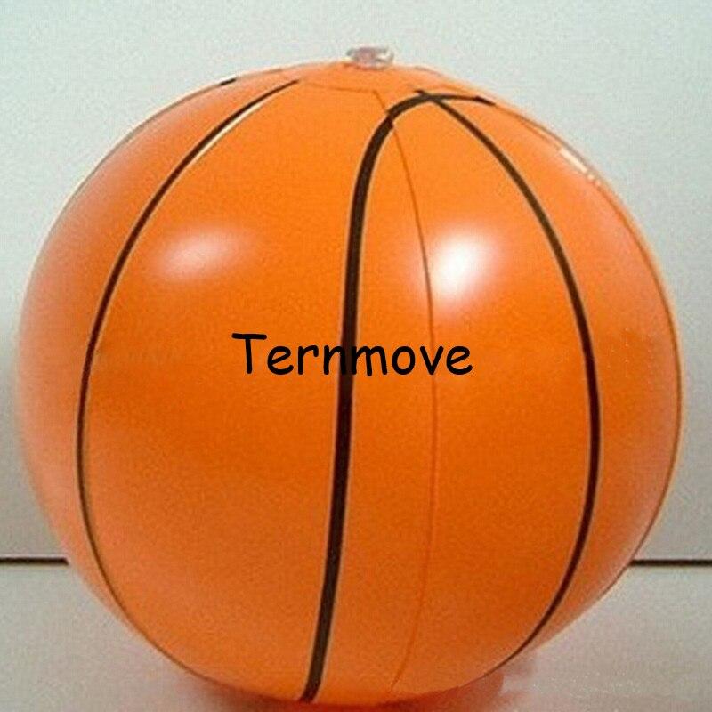 Ballon gonflable géant de basket-ball de plage, ballon gonflable coloré de plage pour des enfants et l'adulte, ballon d'eau d'été