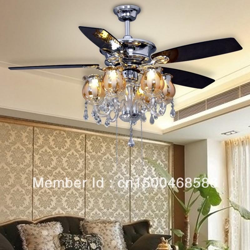 Lights & Lighting Reasonable Led Ceiling Fan Light Dining Room Living Room American Minimalist Modern Ceiling Fan Light