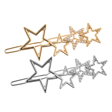 Fashion Pearl Hair Clips Wedding Star Pin Barrettes Clip Accessory for Ladies