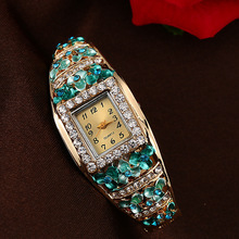 2017 Luxury Brand JW Quartz Watch Women Crystal Diamond Stainless Steel Bracelet Watches Dress Fashion Alloy Wristwatches