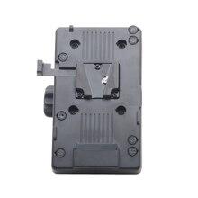 BP Battery Back Pack Adapter V-lock Mount Plate for Sony D-Tap DSLR Rig