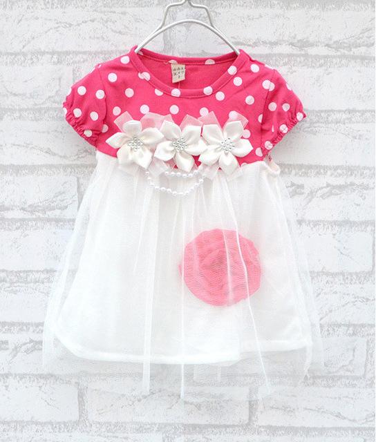 Summer Dresses   baby dress kids wear girls Princess dress kids clothing
