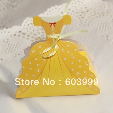 Disney Wedding Gift Card Box : Favor Boxes Gown Dress Wedding FAVORS Gift Boxes Girl Birthday Bridal ...
