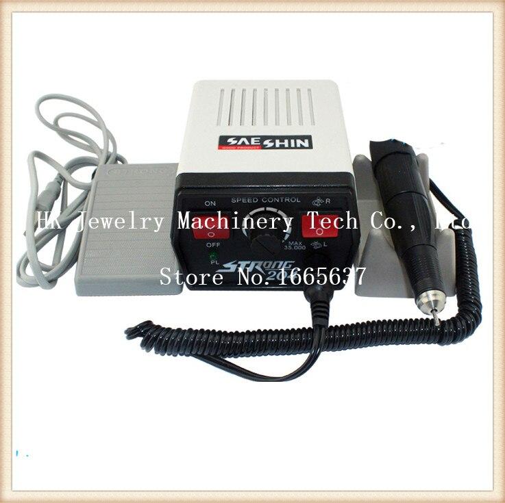цена на 220V 35000 r / min Imported grinding machine, Korea SAESHIN Electric grinder,Grinding & Engraving Machine