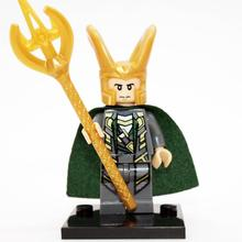Odin Minifigures Marvel Super Heroes The Avengers Building Block Sets Model Bricks Toys For Children XINH010