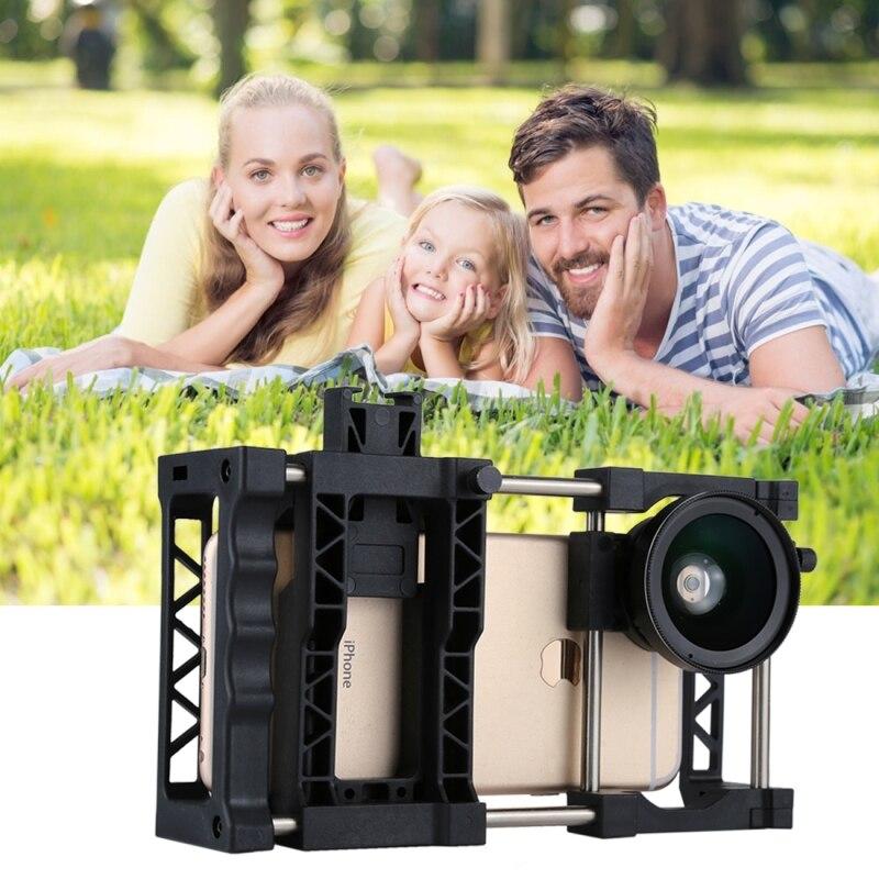 Fotografía Profesional lente estabilizador Universal soporte ajustable para teléfono móvil para iPhone y otros teléfonos inteligentes - 3