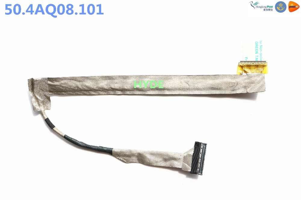 جديد 50.4AQ08.101 lvds cable for dell inspiron 1545 R267J 0R267J lcd led lvds كابل