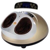 4D Multi function Electric Foot Massager Shiatsu massage Heat therapy SPA plantar airbag Massage for foot reflexology equipment
