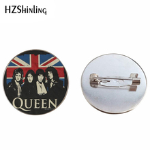 2019 New Design Rock Band Queen Brooch Pin Fashion Pins Queen Band Musician Jewelry  Brooches for ee7233794263