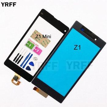For Sony Xperia Z1 L39 L39H C6902 C6903 Z1 Mini Compact D5503 Touch Screen Digitizer Sensor Touch Glass Lens Panel mooncase лич кожи кожа флип сторона кошелек держателя карты чехол с kickstand чехол для sony xperia z1 l39h черный