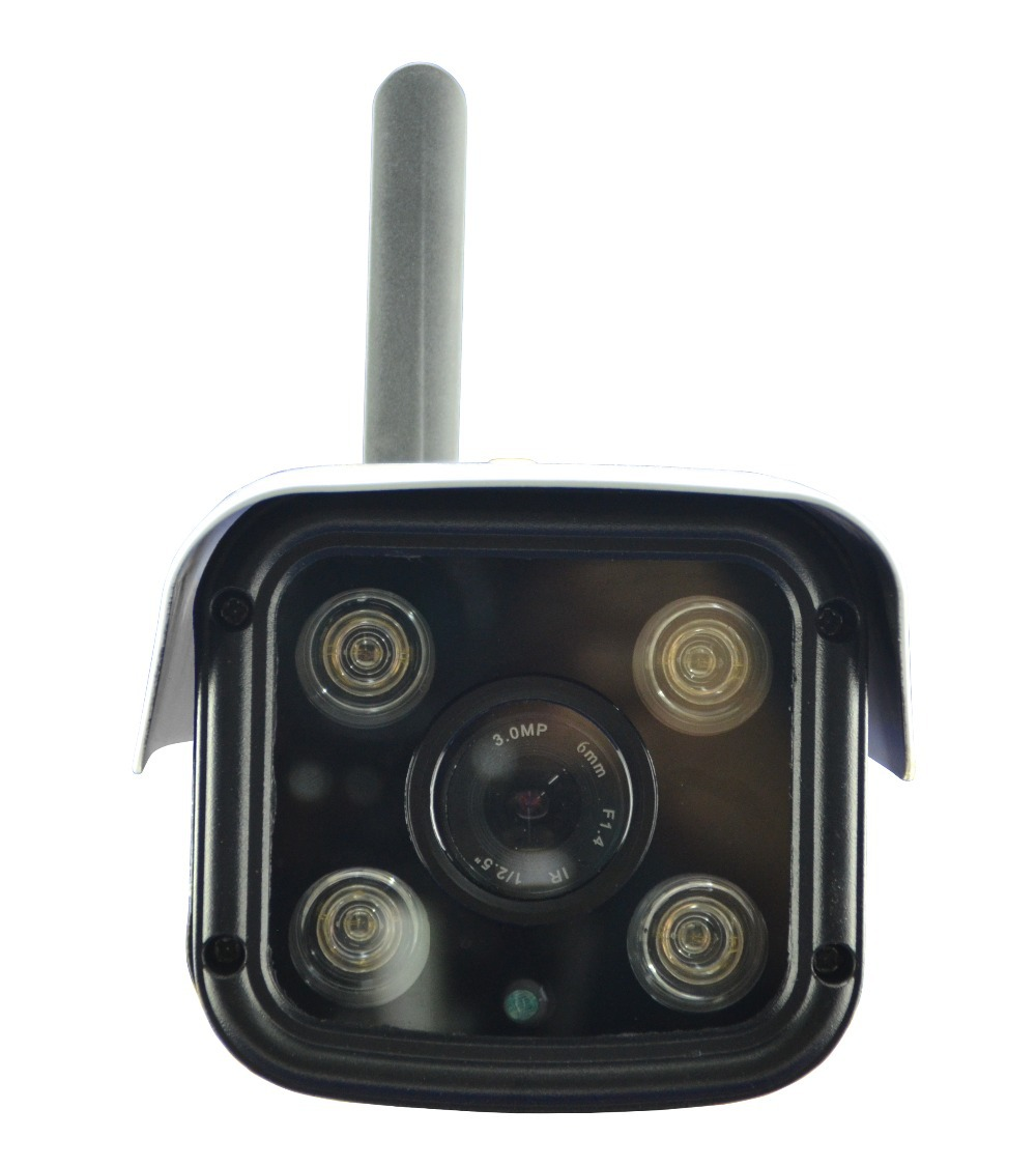 Latest 3G Mobile Bullet Camera with HD 720P Video Transmission via 3G WCDMA NETWORK & Cloud Server for Remote Recording