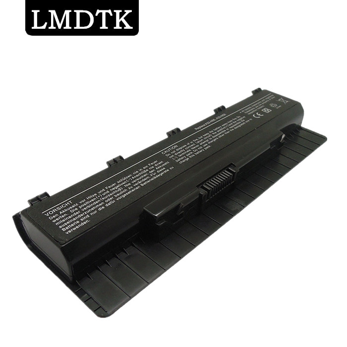 LMDTK New 6 cells Laptop battery For asus N46 n46v N46VJ N46VM N46VZ N56 N56D N56DP N56V N56VJ N76 N76V A31-N56 A32-N56 A33-N56