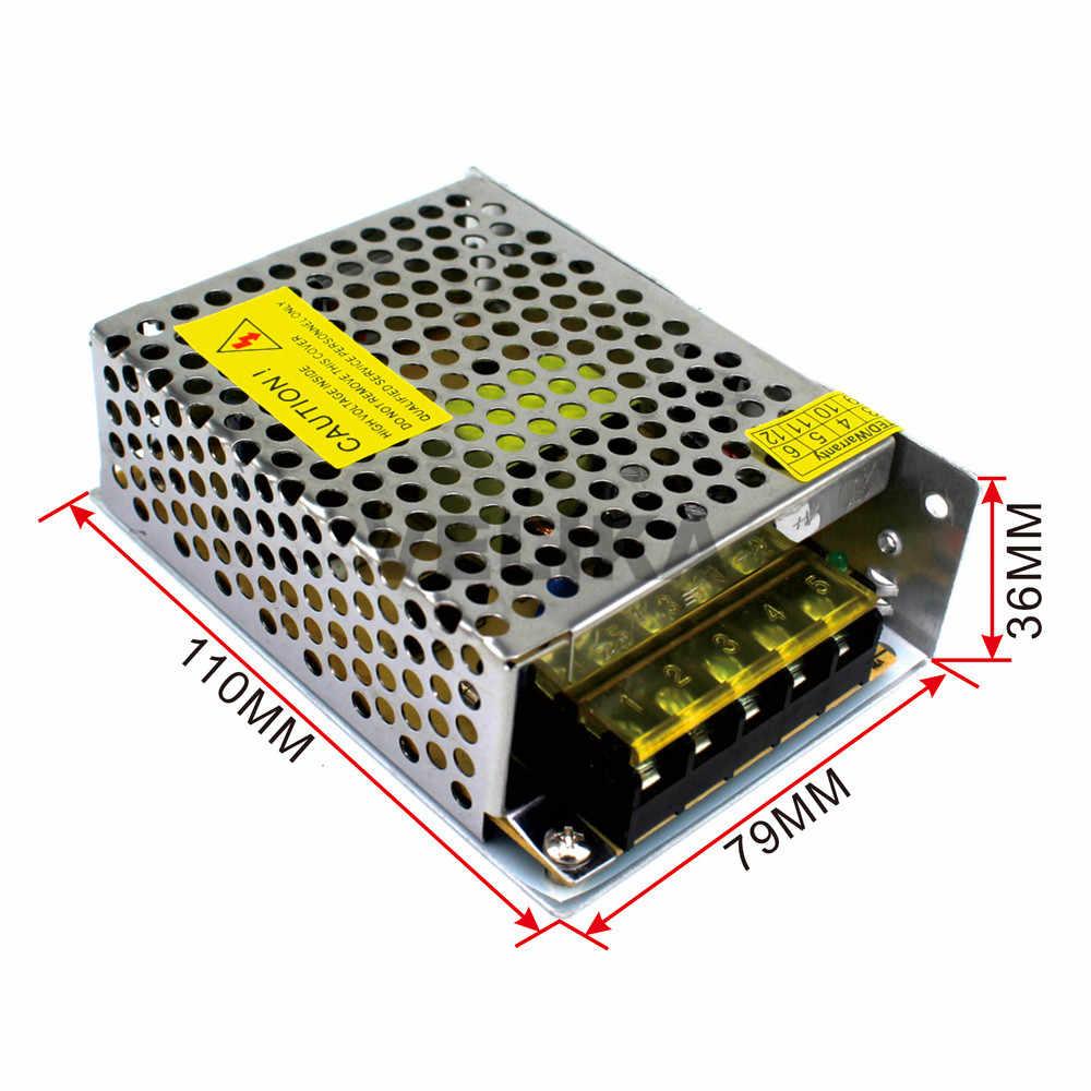 Выключатель с одним выходом Питание DC5V 10A 50 Вт светодиодные источники питания для электроники светодио дный полосы Экран дисплея свет лампы ЖК-дисплей CCTV